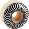 Spitfire Wheels Formula Four Classic Swirl White w/ Silver Skateboard Wheels - 54mm 99a (Set of 4)