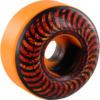 Spitfire Wheels Formula Four Classic Embers Black / Orange Swirl Skateboard Wheels - 54mm 99a (Set of 4)