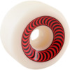 Spitfire Wheels O.G. Classics White / Red Skateboard Wheels - 60mm 99a (Set of 4)