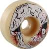 "Spitfire Wheels Kevin ""Spanky"" Long Formula Four Neckface Natural Skateboard Wheels - 52mm 99a (Set of 4)"