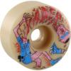 Spitfire Wheels Kader Sylla Formula Four Neckface Natural Skateboard Wheels - 58mm 99a (Set of 4)