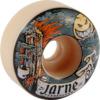 Spitfire Wheels Jarne Verbruggen Formula Four Moonshine White Skateboard Wheels - 52mm 101a (Set of 4)