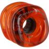 Shark Wheels California Roll Transparent Lava Skateboard Wheels - 60mm 78a (Set of 4)