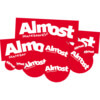 Almost Skateboards Red 10 Pack Mixed Logo Skate Sticker