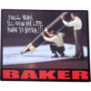 Baker Skateboards Lifer Skate Sticker