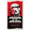 Black Label Skateboards Omar Hassan Of The Dead Skate Sticker