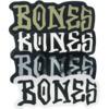 "Bones Wheels Bones 3"" Assorted Colors Skate Sticker"
