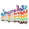 "Chocolate Skateboards 5"" Chunk Skate Sticker"