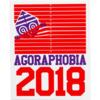 Darkroom Agographobia Skate Sticker
