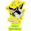 Enjoi Skateboards Ignorance Skate Sticker