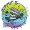 Happy Hour Skateboards Rippin n Sippin Large Skate Sticker