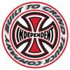 """Independent 6"""" T/C Blaze Skate Sticker"""
