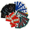 Pizza Skateboards 10 Pack Assorted Assorted Colors Skate Sticker