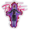 Primitive Skateboarding DBS Goku Black Rose Pink Skate Sticker