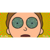 Primitive Skateboarding Rick and Morty Morty Hypno Skate Sticker