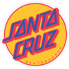 "Santa Cruz Skateboards 5.75 X 6"" Other Dot Mylar Yellow Skate Sticker"