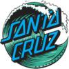 Santa Cruz Skateboards 3 Assorted Colors Skate Sticker