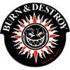 Spitfire Wheels Burn & Destroy Skate Sticker Small