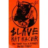 Slave Skateboards Rat Racer Skate Sticker