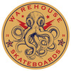 "Warehouse Skateboards Octopus Skate Sticker - 2.5"" x 2.5"""