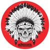 "Warehouse Skateboards Native Skull Skate Sticker - 2.5"" x 2.5"""