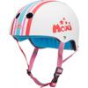 """Triple 8 Certified Sweatsaver Moxi Stripey White Skate Helmet CPSC Certified - XS/S 20"""" - 21.25"""""""