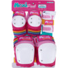 187 Killer Pads Adult Six Pack Moxi Pink Knee, Elbow, & Wrist Pad Set - Large / X-Large