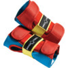 ProTec Street Retro Red / Blue / Yellow Wrist Guards - Junior