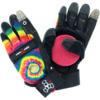 Triple 8 Downhill Longboard Tie Dye / Black Slide Gloves - Large / X-Large