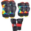 Triple 8 Saver Series 3-Pack Tie Dye Knee, Elbow, & Wrist Pad Set - Large