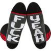 Fuel Clothing Crossover - Fuk / Yeah Crew Socks - Standard