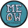 """Meow Skateboards 2.5"""" Stacked Round Patch Patch"""