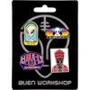 Alien Workshop 4 Pack Pin