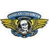 Powell Peralta Winged Ripper Blue / Gold Lapel Pin