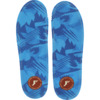 Footprint Insoles Kingfoam Blue Camo Shoe Insoles Low Profile 3mm - 6/6.5