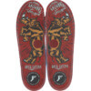 Footprint Orthotic Insoles Greg Lutzka Gamechanger Red Shoe Insole - 6/6.5