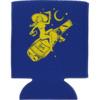Lowcard Mag Drunk Moon Coozie Blue Drinkware