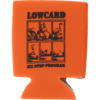 Lowcard Mag 6 Step Coozie Orange Drinkware