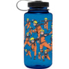 Primitive Skateboarding Naruto Shadow Clone Blue Water Bottle