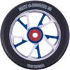 Grit 125mm Bio Core Black / Blue / Silver Scooter Wheel