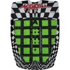 Astrodeck 403 Crossroads Black / Green Surfboard Traction Pad