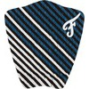 Famous Surf Figueroa White / Navy Surfboard Traction Pad - 3 Piece