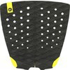 Kinetik Racing Two Track Black Surfboard Traction Pad - 2 Piece