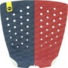 Kinetik Racing Two Track Wine / Blue Surfboard Traction Pad - 2 Piece