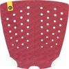 Kinetik Racing Two Track Red Wine Surfboard Traction Pad - 2 Piece