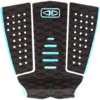 Ocean & Earth Tyler Wright Signature Black / Aqua Surfboard Traction Pad - 3 Piece