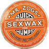 Sex Wax Quick Humps Orange 4X Firm Mid-Cool to Warm Water Surf Wax