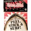 Surfco Hawaii Super Slick Classic Longboard Black Nose Guard Kit