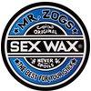 "Sex Wax 9.5"" Skate Sticker Assorted Colors"