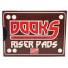 Dooks Riser Pads - Set of Two (2) - 1/8""